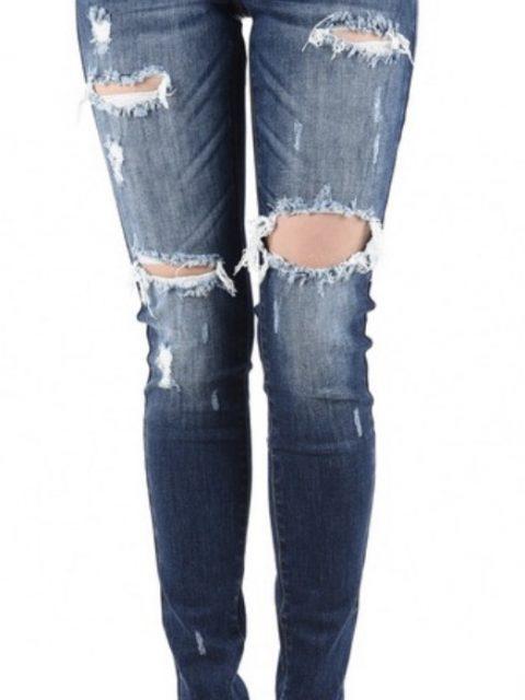 Distressed KanCan Jeans