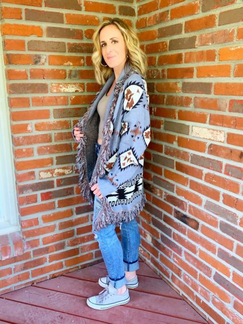 The Arlene Aztec Sweater