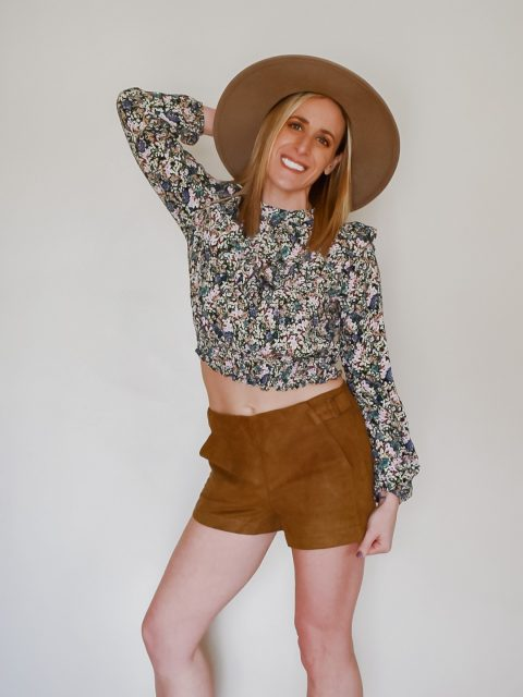 The Spencer Suede Shorts