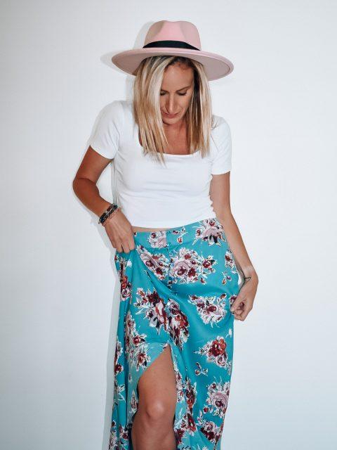 The Flora Maxi Skirt