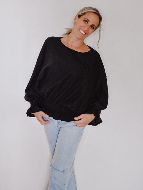 The Patsy Smocked Top
